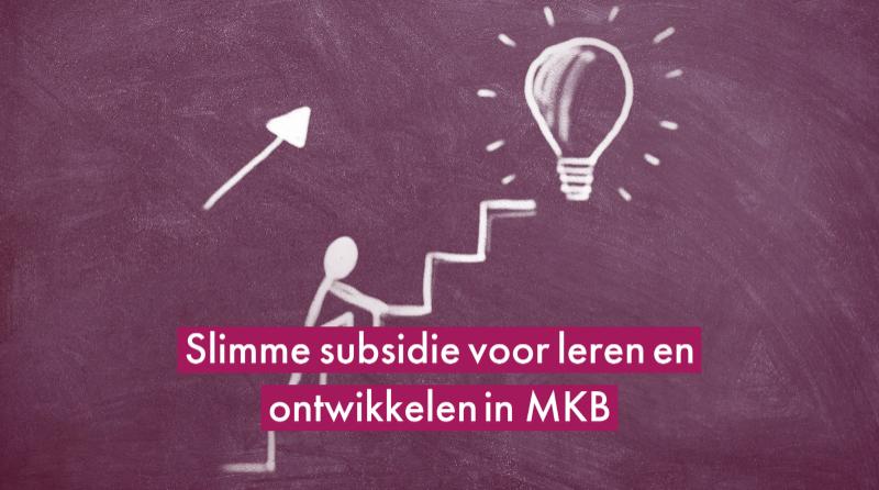Slimme subsidie voor leren en ontwikkelen in MKB